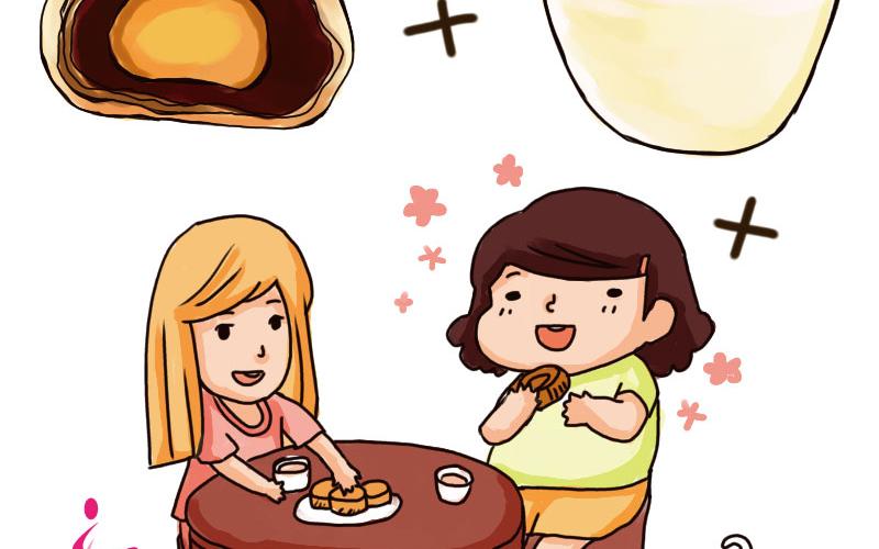 【微知識】月餅這樣吃最健康