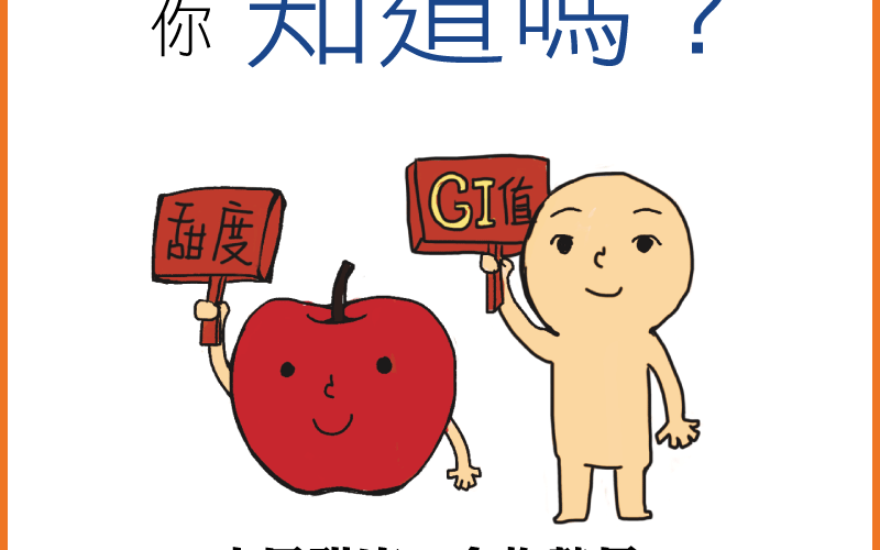 【微知識】升糖指數(GI)與水果甜度