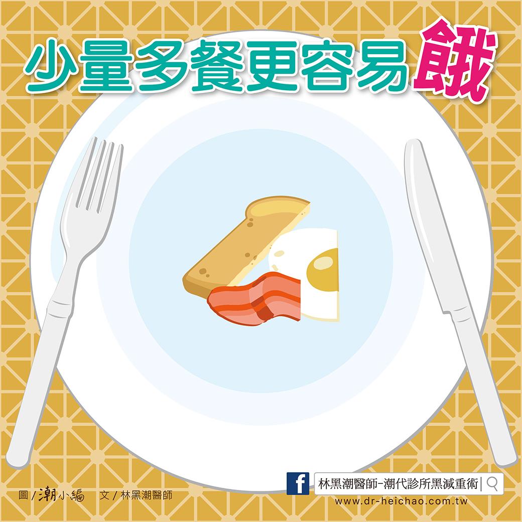 20170610林醫師-「少量多餐 」可減肥,你相信嗎?-01
