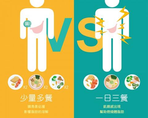 「少量多餐 」可減肥,你相信嗎?/文:林黑潮醫師