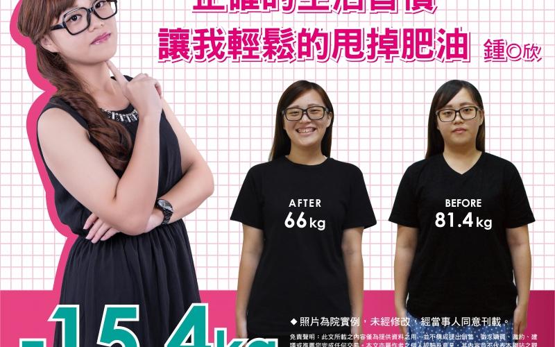 原來減重,飲食調整比運動重要-鍾O欣