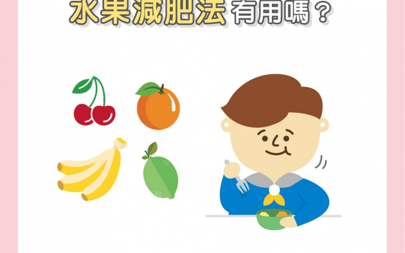 水果減肥法有效嗎?/文:陳韋螢醫師