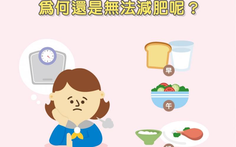 每餐都吃得少,為何還是無法減肥呢?/陳韋螢醫師