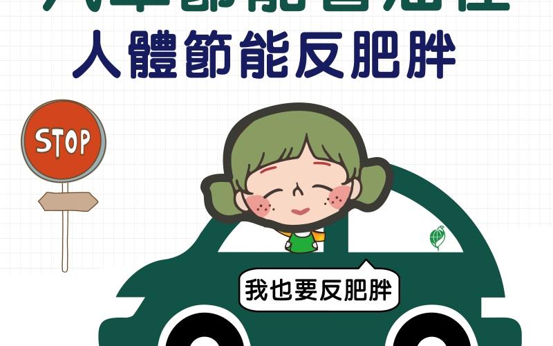 汽車節能省油佳,人體節能反肥胖/文:洪啟偉醫師