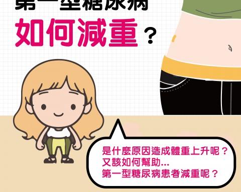 第一型糖尿病如何減重?/文:洪啟偉醫師