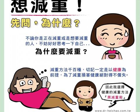 想減重!先問,為什麼?/文:夏明輝醫師