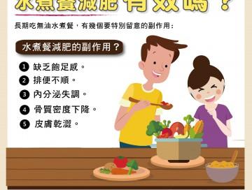 水煮餐減肥有效嗎?/文:林黑潮醫師
