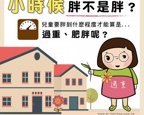 小時候胖不是胖?/文:沈孟娟醫師