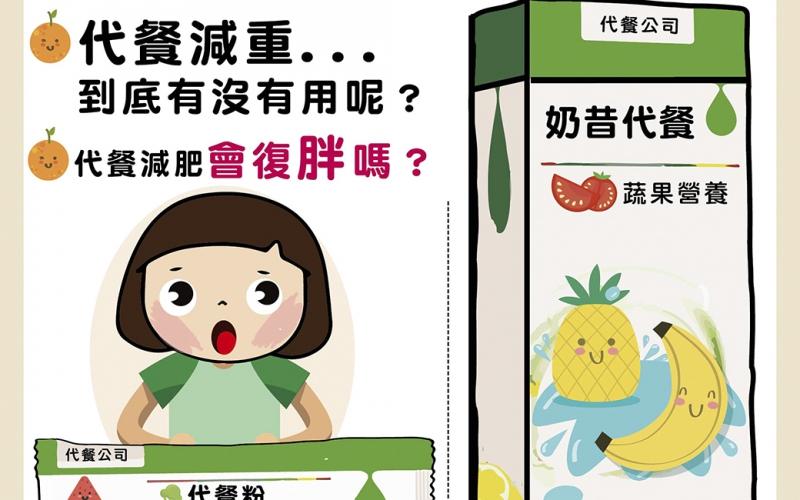 代餐取代了什麼? /文:夏明輝醫師