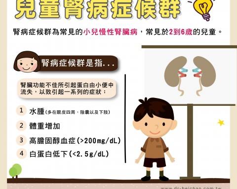 兒童腎病症候群/文:許錦銓醫師