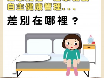 居家隔離、居家檢疫、自主健康管理差別在哪裡?/文:陳韋螢醫師
