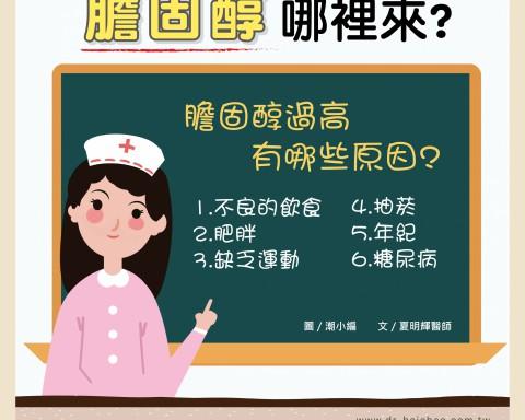 膽固醇哪裡來?/文:夏明輝醫師