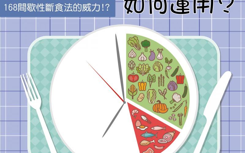 168間歇性斷食減肥法,如何運用?/文:林黑潮醫師