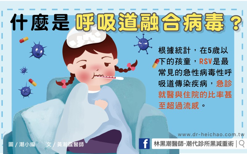 什麼是呼吸道融合病毒?/文:黃瀚霆醫師