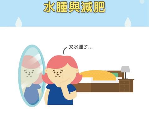 水腫與減肥有關係嗎?/文:洪啟偉醫師